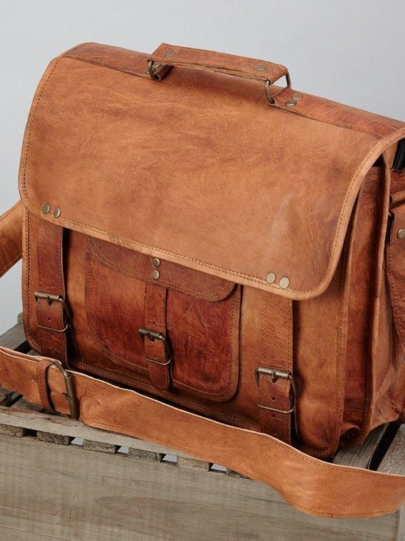 97898365db84 handmade-leather-bag-vintage-leather-bag-with-one-