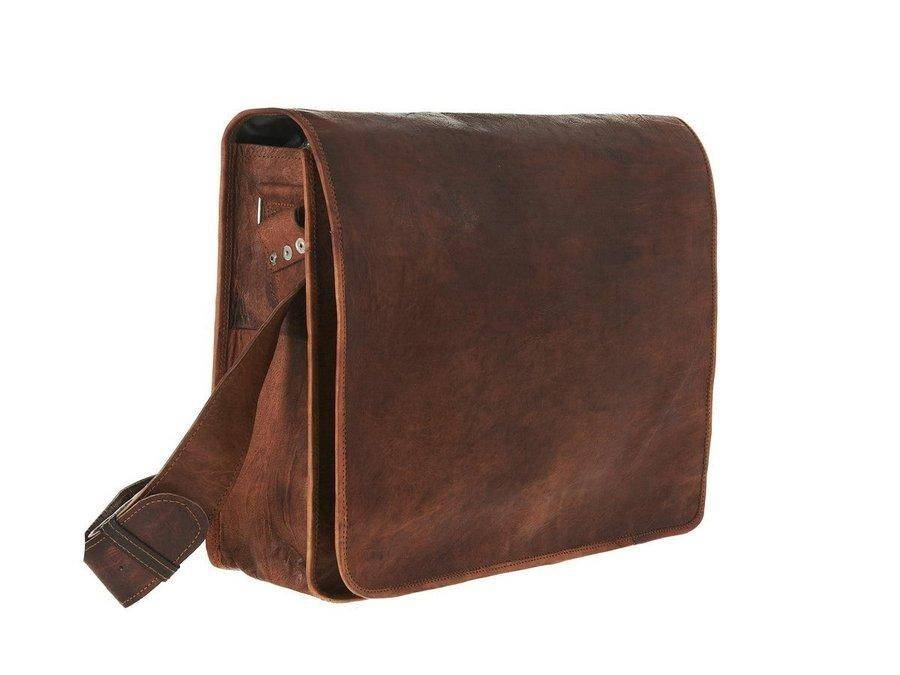 Craftshades Premium Handmade Leather Messenger Bag